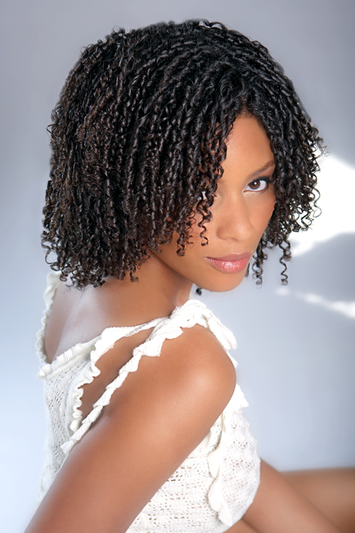 Scrunch Hair Style For African American Women | hairstylegalleries.com
