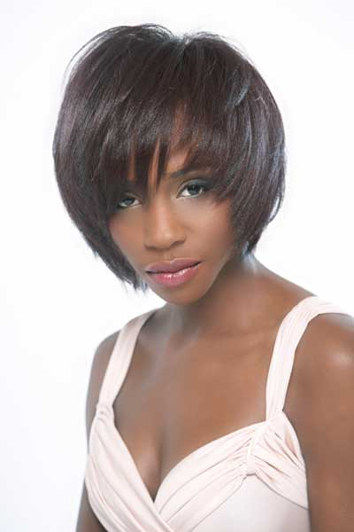Highly Textured Black Hair Style Image 7